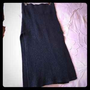 Free People perfect winter skirt with side slits